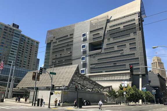 The San Francisco Federal Building remains a startling presence at the corner of 7th and Mission streets, even though it opened more than a decade ago, in 2007.