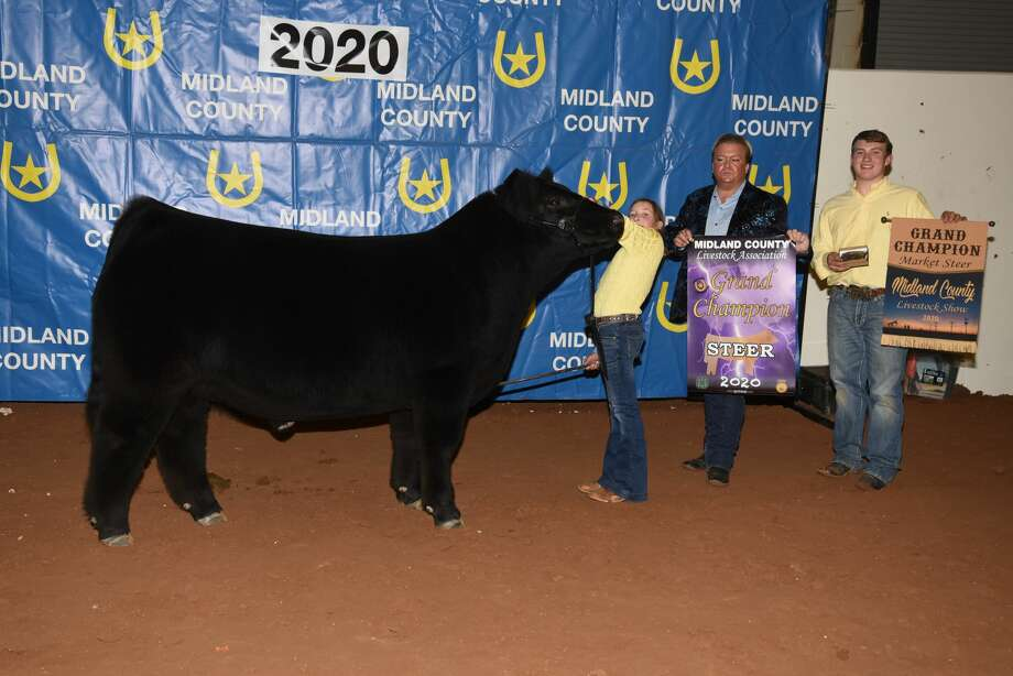 Grand Champion Steer Kimbre Lambert Photo: Courtesy Photo