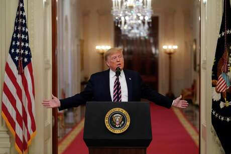 President Donald Trump speaks at the White House the day after his acquittal by the Senate of two impeachment charges. Finally, the 2016 election has come to a close.
