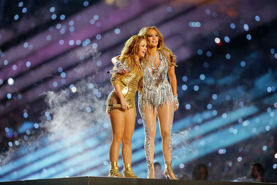 Shakira and Jennifer Lopez's halftime performance at the Super Bowl has one reader wanting a stronger Latina presence in the media. Photo: Al Diaz /Miami Herald / Miami Herald