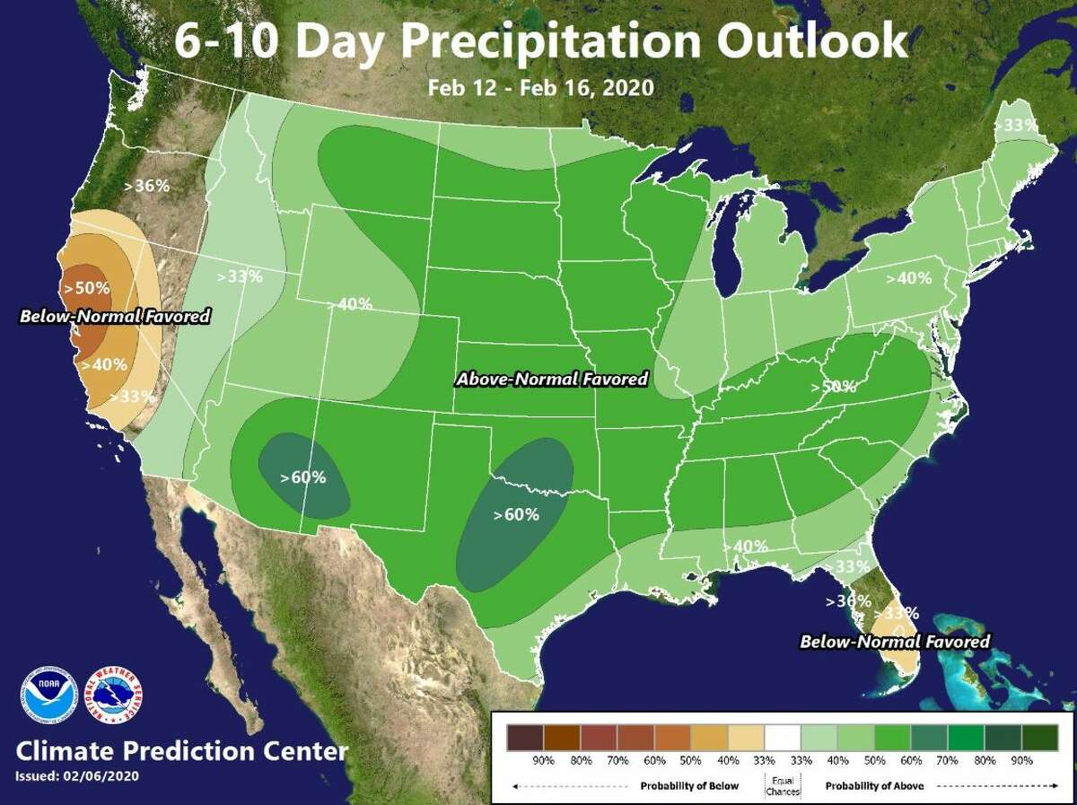 Weather was expected to be dry on Sunday and Monday.