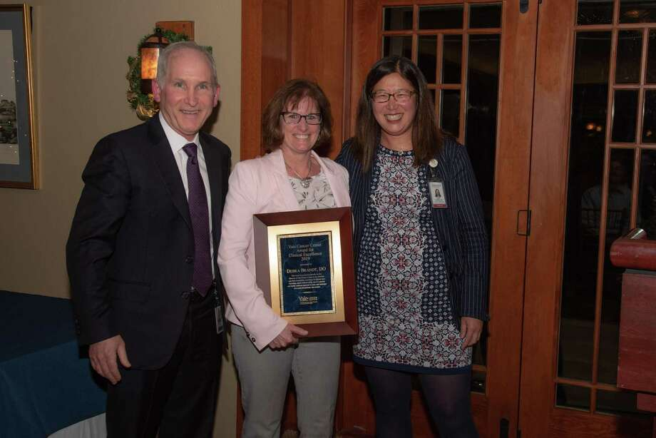 Debra Brandt, D.O., was honored with a Yale Cancer Center (YCC) Award for Clinical Excellence at YCC's annual Conclave Jan. 13. Photo: Contributed Photo / 2020