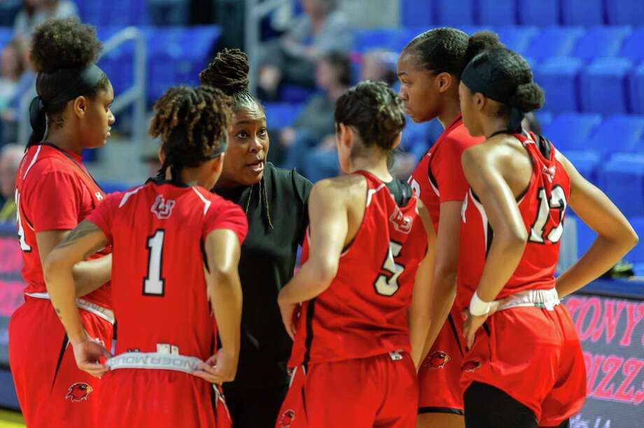 The Lamar Lady Cardinals headed to Lake Charles to take on the McNeese Cowgirls on February 1, 2020. Fran Ruchalski/The Enterprise Photo: Fran Ruchalski/The Enterprise / 2019 The Beaumont Enterprise
