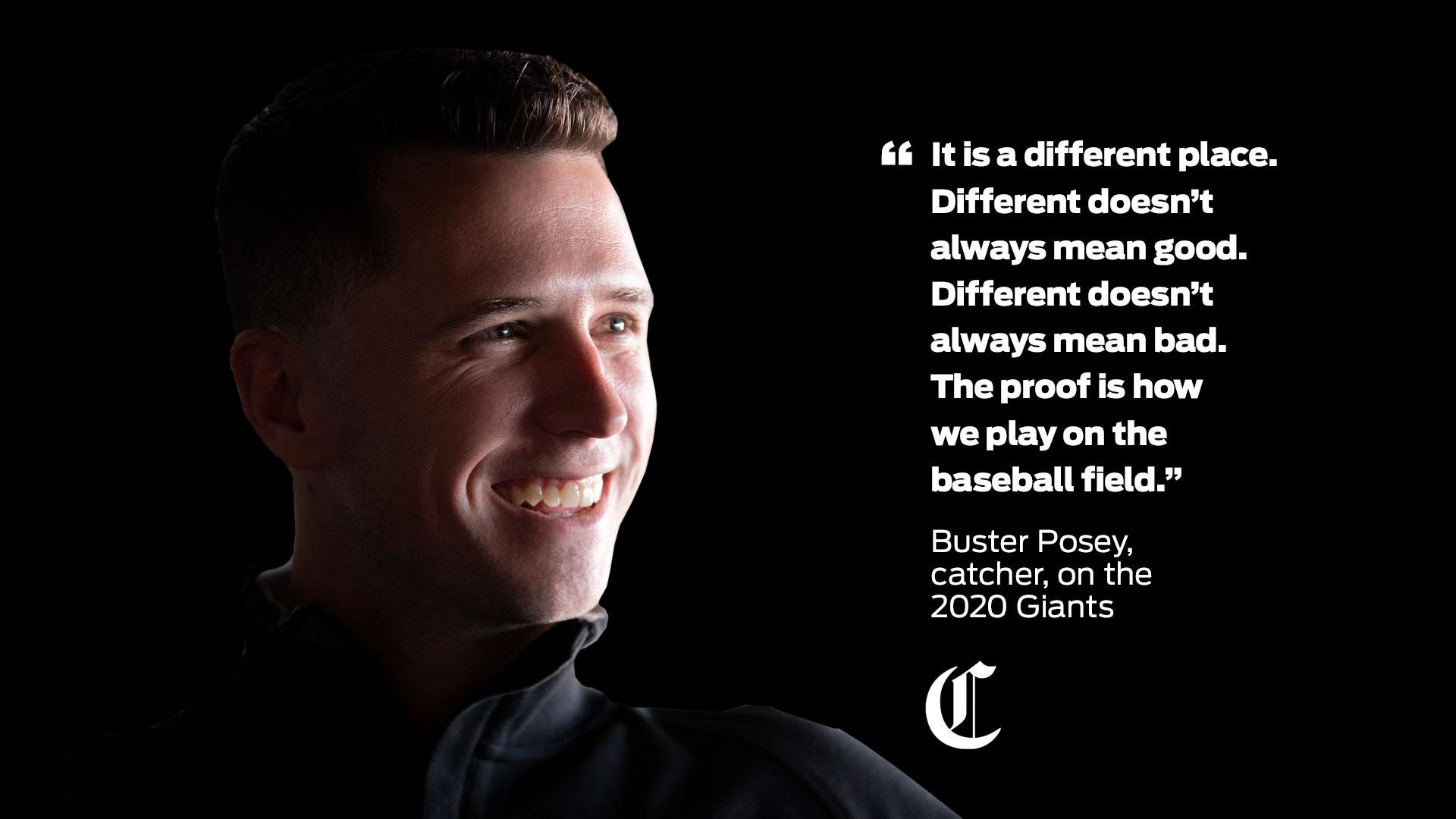 Forget Giants' new-age baseball jargon. 'Different' is the word of 2020
