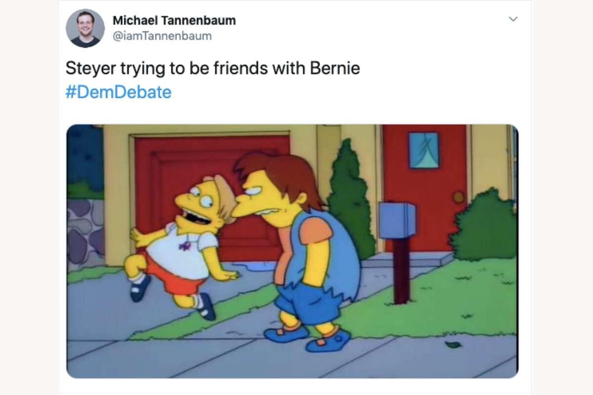 Twitter users roast Tom Steyer for