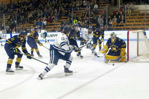 When will the rival Quinnipiac and Yale men's hockey teams meet on the ice again? With the college sports world impacted by COVID-19, it's too early to tell.