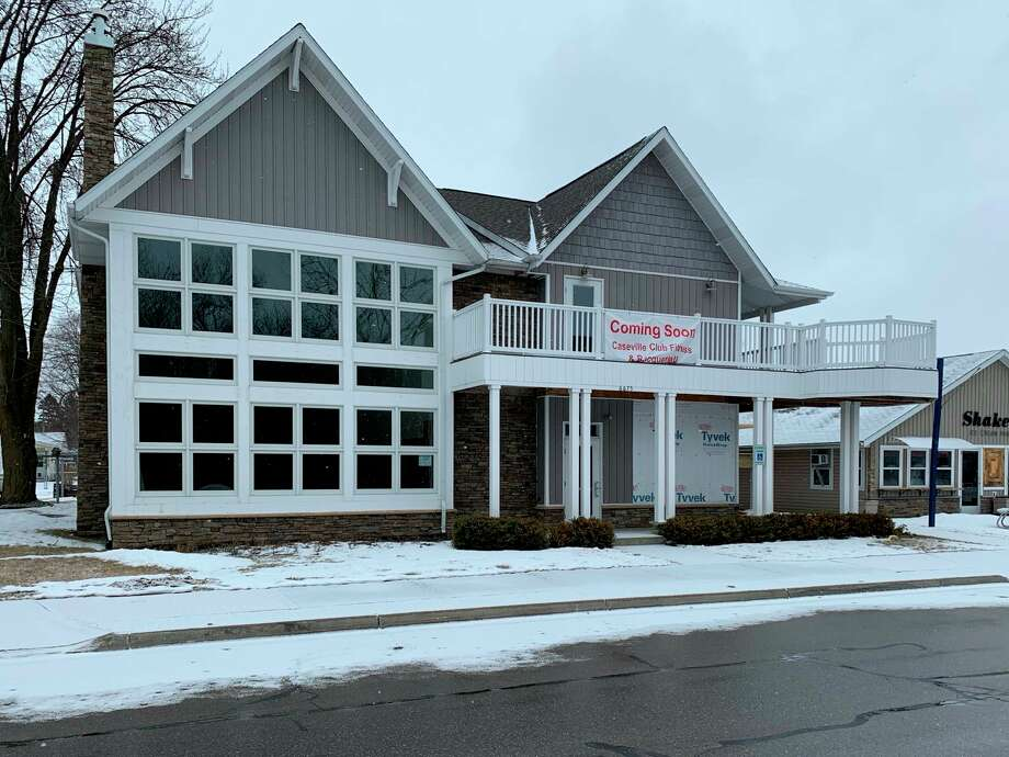 A vacant building in Caseville should soon see signs of life as Cass City entrepreneurBrad Severanceplans to open Caseville Club Fitness. (Paige Withey/For the Tribune)