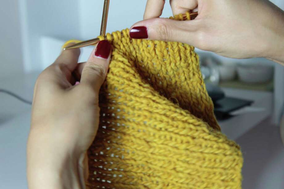 Knit and crochet day is slated for Feb. 13 at Onekama Township Hall. (Courtesy photo/Ursula Castillo)