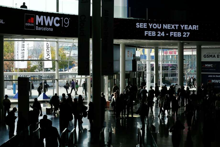Mobile World Congress, held each year in Barcelona, brings together the world's biggest wireless companies. Photo: Getty Images
