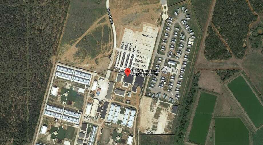 The boy, his 1-year-old brother and their mother were taken to ICE's family detention center at Dilley, Texas, while their father was taken to a detention center in California. Photo: Google Maps