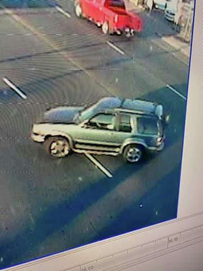 The Richmond Police Department released photos of this car, whose driver they say struck a 4-year-old and fled the scene. Photo: Richmond Police Department