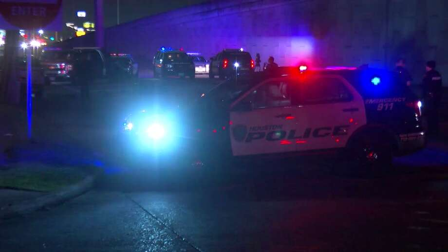 A hit-and-run driver killed a motorcyclist who was stopped at a red light Friday night in north Houston, authorities said. Photo: On Scene