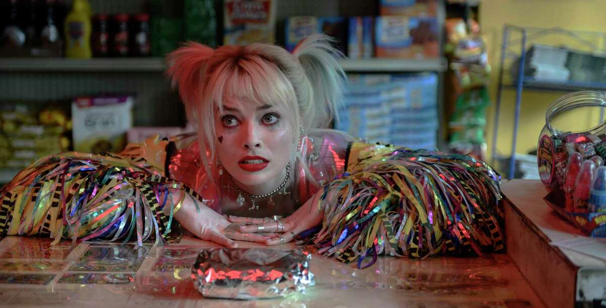 This image released by Warner Bros. Pictures shows Margot Robbie in a scene from