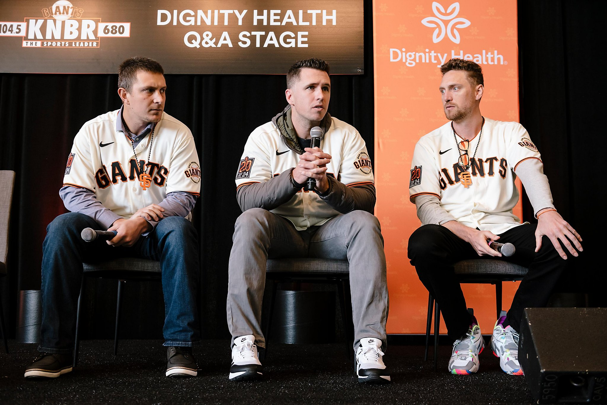 Giants' most popular player at FanFest? Welcome back, Hunter Pence