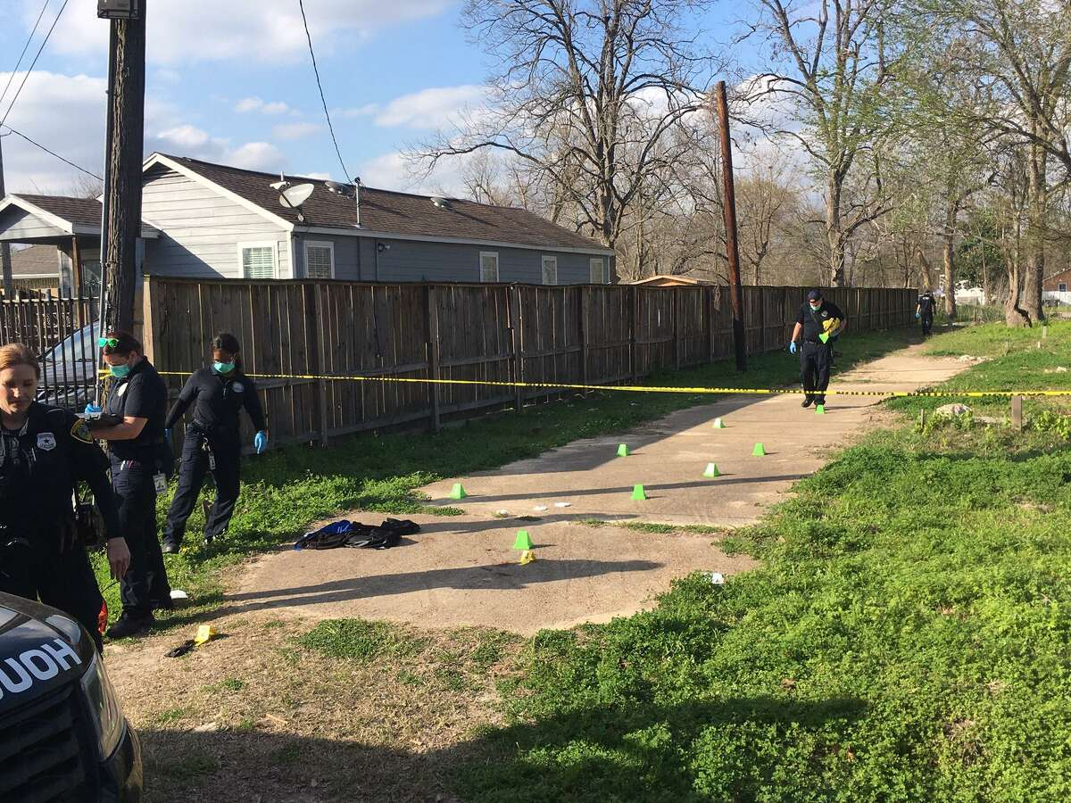 Police say a man with a semi-automatic rifle shot James Lee - a 29-year-old local rapper who went by 'Boo Man' or Band Pacino - and three of others in what appeared to be a targeted act Saturday in Acres Homes.