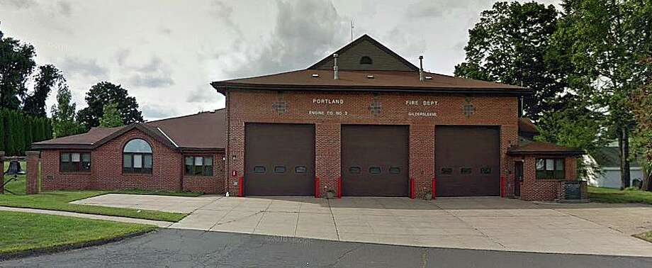 A Google Streetview screenshot of the fire station that Richard William Basso spent years of his life volunteering for in Portland, Conn. He died at the age of 63 on Friday, Feb. 7, 2020. Photo: Contributed Photo