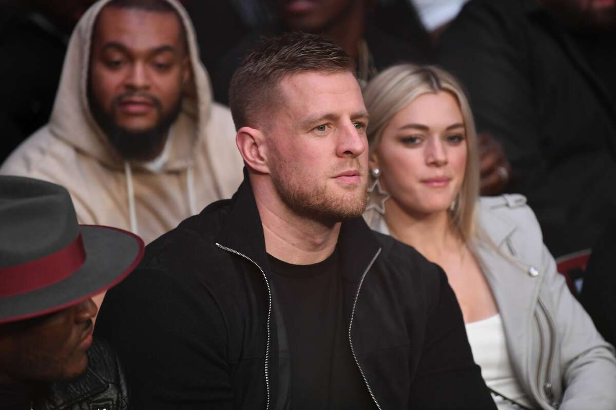 PHOTOS: A look back at some questions from fans J.J. Watt answered last summer J.J. Watt and wife Kealia Ohai attended UFC 247 on Feb. 8, 2020 at Toyota Center.