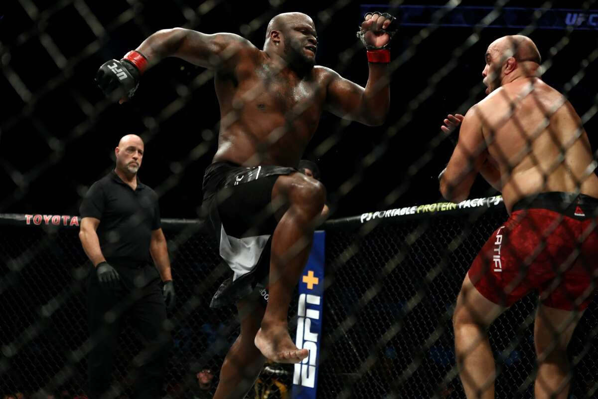 PHOTOS: More from all the Houston fighters who competed at UFC 247 HOUSTON, TEXAS - FEBRUARY 08: (L-R) Derrick Lewis and Ilir Latifi in their Heavyweight bout during UFC 247 at Toyota Center on February 08, 2020 in Houston, Texas. (Photo by Ronald Martinez/Getty Images) Browse through the photos above for more of the Houston fighters at Saturday night's UFC 247 at Toyota Center ...