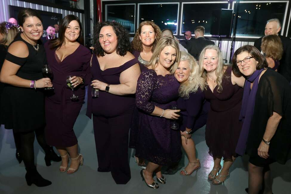 Were you Seen at the 6th annual Purple Tie Affair to benefit the Leukemia and Lymphoma Society's Team In Training program and Nick's Fight To Be Healed Foundation on Saturday, February, 2020 at The Hangar at 743 in Latham?