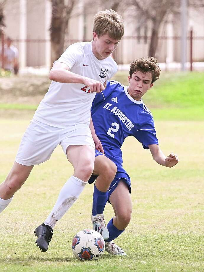 St. Augustine soccer's season came to end as it fell to Katy British International Saturday. Photo: Danny Zaragoza /Laredo Morning Times / Laredo Morning Times