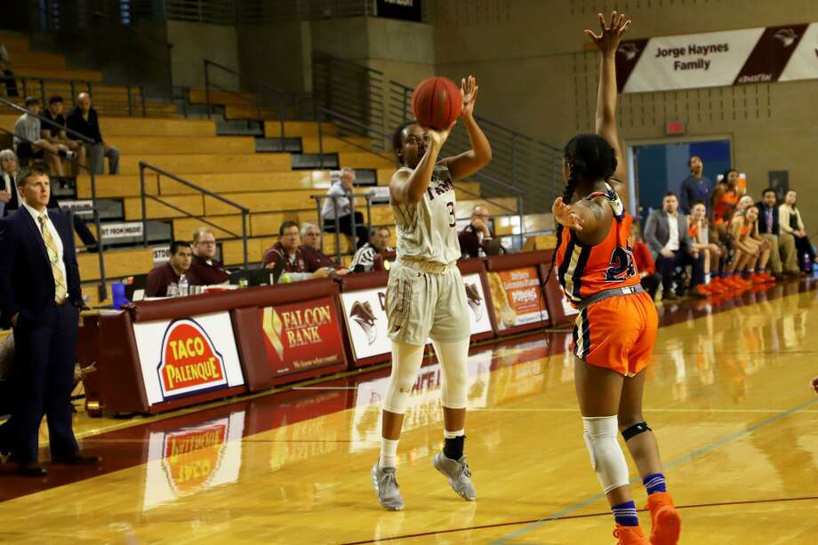 The Texas A&M International women's basketball fell to St. Mary's Saturday. Photo: Courtesy Of TAMIU Athletics