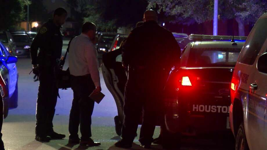 A man was shot multiple times and killed Sunday morning in southwest Houston and another man has been detained in connection to the shooting, police said. Photo: On Scene