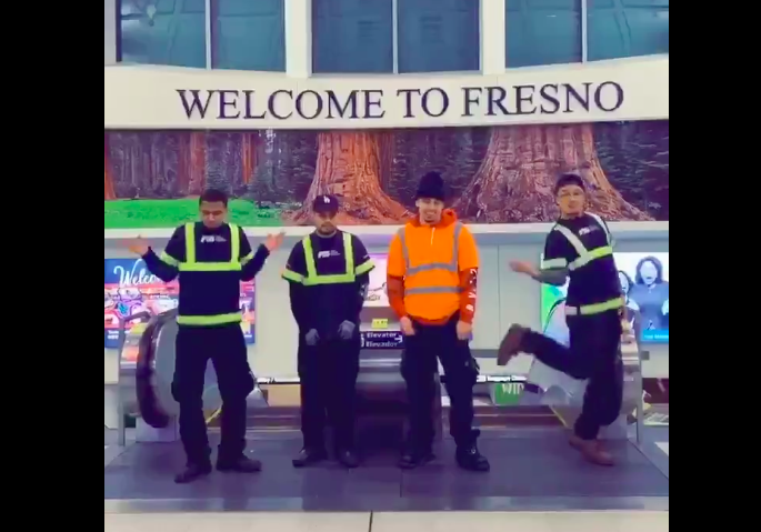 Fresno airport workers fired after viral TikTok video