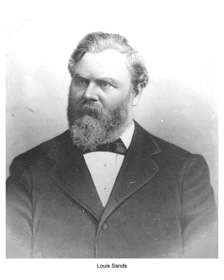 Louis Sands, a successful lumberman, will be the topic of the next Benzonia Academy Lecture. (Courtesy Photo)
