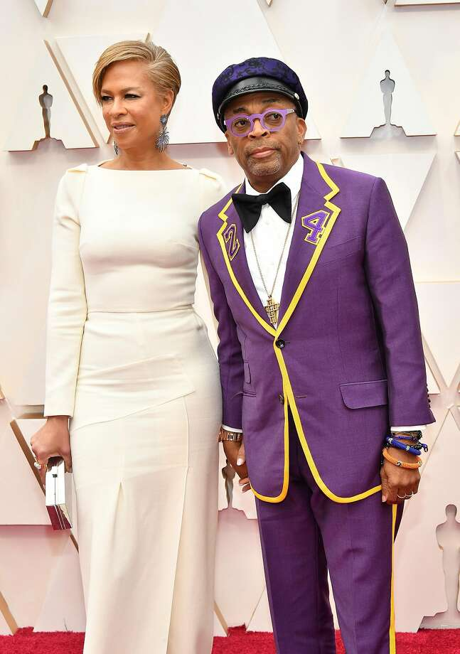 HOLLYWOOD, CALIFORNIA - FEBRUARY 09: (L-R) Tonya Lewis Lee and filmmaker Spike Lee attends the 92nd Annual Academy Awards at Hollywood and Highland on February 09, 2020 in Hollywood, California. (Photo by Amy Sussman/Getty Images) Photo: Amy Sussman, Getty Images