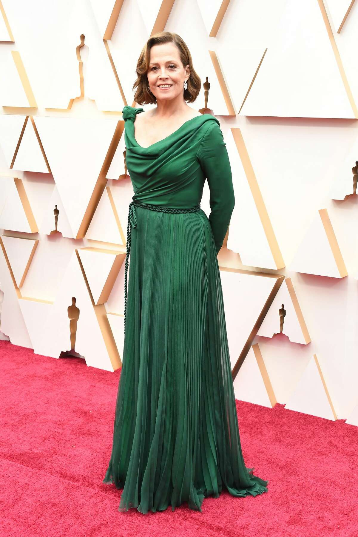HOLLYWOOD, CALIFORNIA - FEBRUARY 09: Sigourney Weaver attends the 92nd Annual Academy Awards at Hollywood and Highland on February 09, 2020 in Hollywood, California. (Photo by Steve Granitz/WireImage)