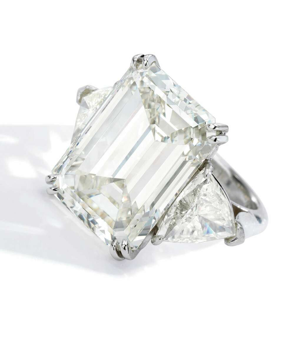 Marylou Whitney's 21.26 carat diamond ring is estimated to be sold between $250,000 to $350,000 at Sotheby's in the spring.