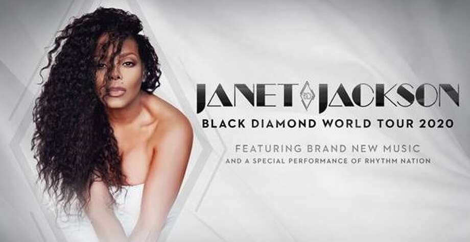 "Janet Jackson is bringing her Black Diamond Word Tour to the AT&T Center on Aug. 7. Miss Jackson will perform a new production, featuring new music, as well as hits from 12 of her multi-platinum albums and a ""special performance"" of Rhythm Nation 1814, which recently marked its 30th anniversary.  Photo: Courtesy, AT&T Center"
