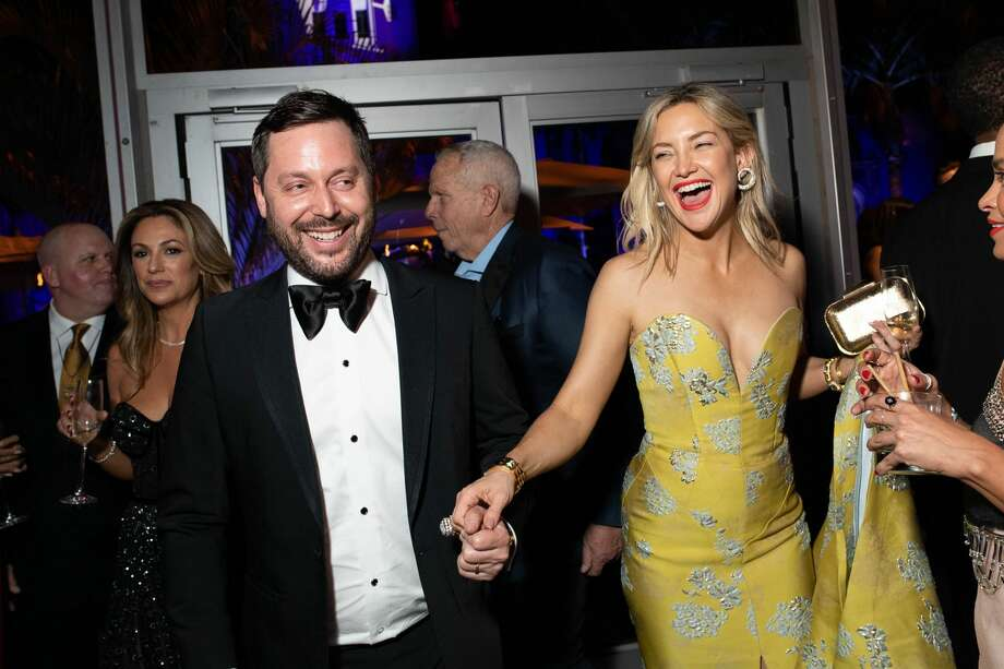 Kate Hudson attends the 2020 Vanity Fair Oscar Party hosted by Radhika Jones at Wallis Annenberg Center for the Performing Arts on February 09, 2020 in Beverly Hills, California. Photo: Emma McIntyre /VF20/WireImage