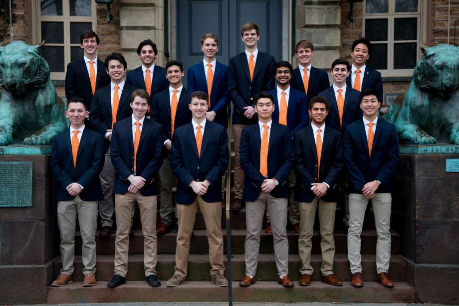 The Princeton University Footnotes will perform a public a cappella concert at Norwalk's Lockwood-Mathews Mansion Museum. Photo: Princeton University Footnotes / Contributed Photo