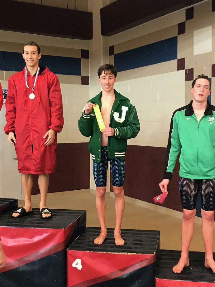 Strake Jesuit junior Alex Culligan broke a school record and earned a call-up to the UIL state championships with a regional time of 57.81 seconds in the 100-yard breaststroke. Photo: Strake Jesuit College Prep / Strake Jesuit College Prep