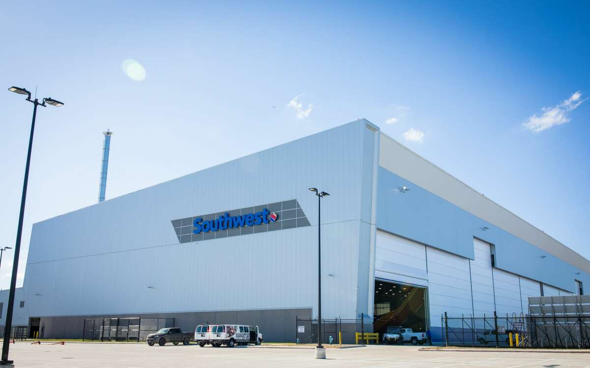 Southwest Airlines opened a new hangar facility on Jan. 8 at William P. Hobby Airport in Houston.