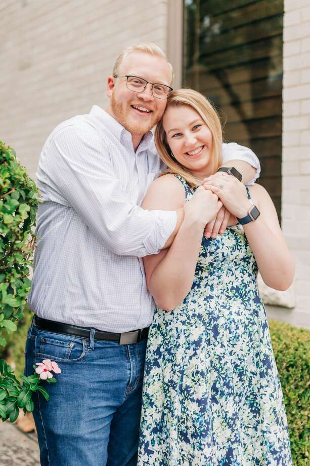 """Local couple Billy Hunt and Kristina Kucey were left """"shocked"""" and """"panicked"""" after their wedding venue, NOAH's Event Center, abruptly closed its doors last weekend. Photo: Billy Hunt"""