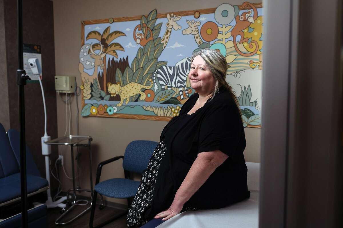 Dr. Shayla Kasel in the offices that used to house her medical practice in Simi Valley, Calif., on Jan. 27, 2020. Kasel's pratice was hit by ransomware last year, ultimately forcing her to shut down. (Kate Warren/The New York Times)
