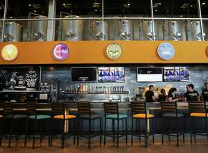 A first look at the new Flix Brewhouse dine-in movie theater, which opens Wednesday on San Antonio's far West Side. The Round Rock-based theater chain features an in-house microbrewery. The cinema will feature 30 craft beers with a dozen brewed in-house.