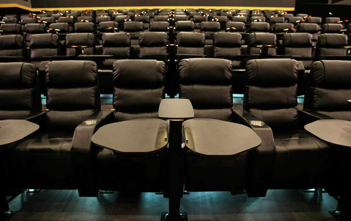 A look at Flix Brewhouse's exclusive 'EG2 luxury dining recliners' at the new San Antonio location, which opens Wednesday.