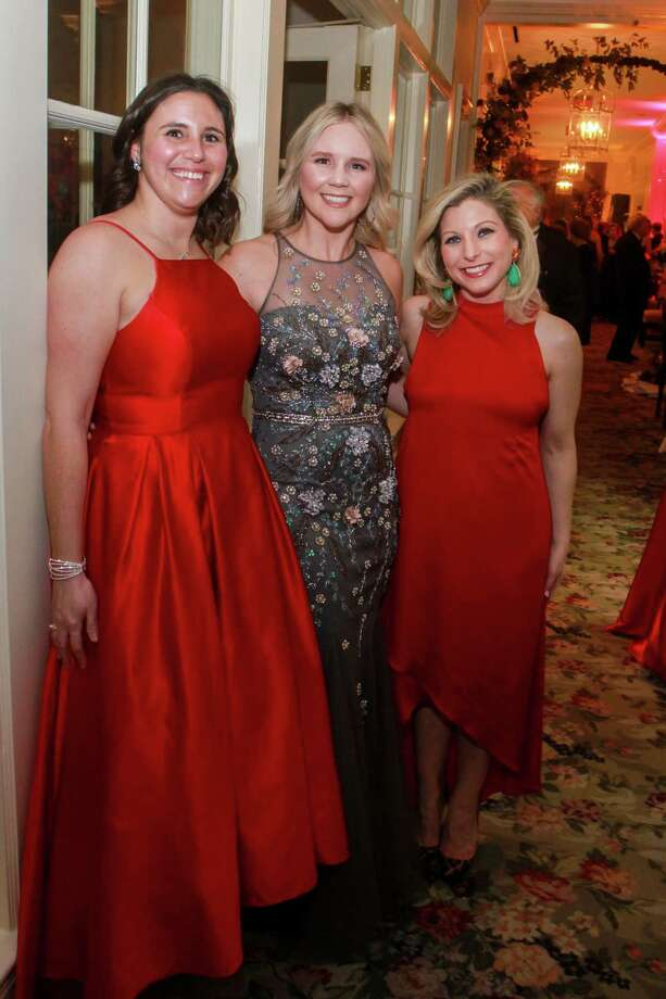Mary DeForke, from left, Ginger Baldwin and Alicia Mathis at Junior League's 72nd annual Charity Ball at Junior League of Houston on February 7, 2020. Photo: Gary Fountain, Contributor / Copyright 2020 Gary Fountain