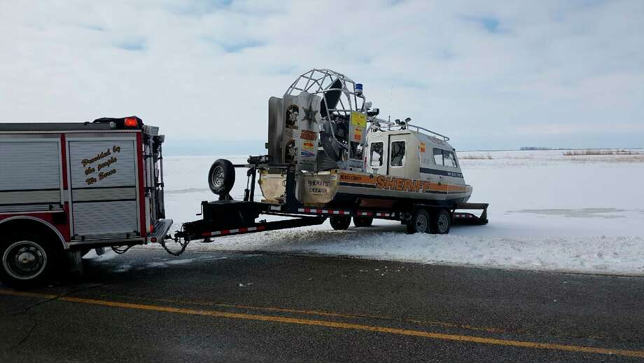 The Sheriff's Endeavor airboat prepares to launch. (Sheriff Kelly Hanson/Courtesy Photo)