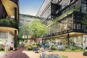 Montrose Collective will have more than 150,000 square feet of office space, retail, restaurants and a public library.