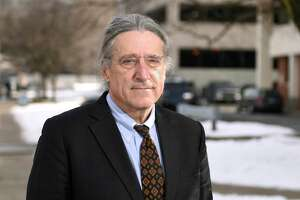 Defense attorney Norm Pattis outside the Connecticut Superior Court in Stamford, Conn. Thursday, Jan. 23, 2020. Pattis was defending Fotis Dulos, who has been accused of murdering his estranged wife and mother of five, Jennifer Farber Dulos. He has also defended far-right radio personality Alex Jones and many other big names and people accused of violent crimes.