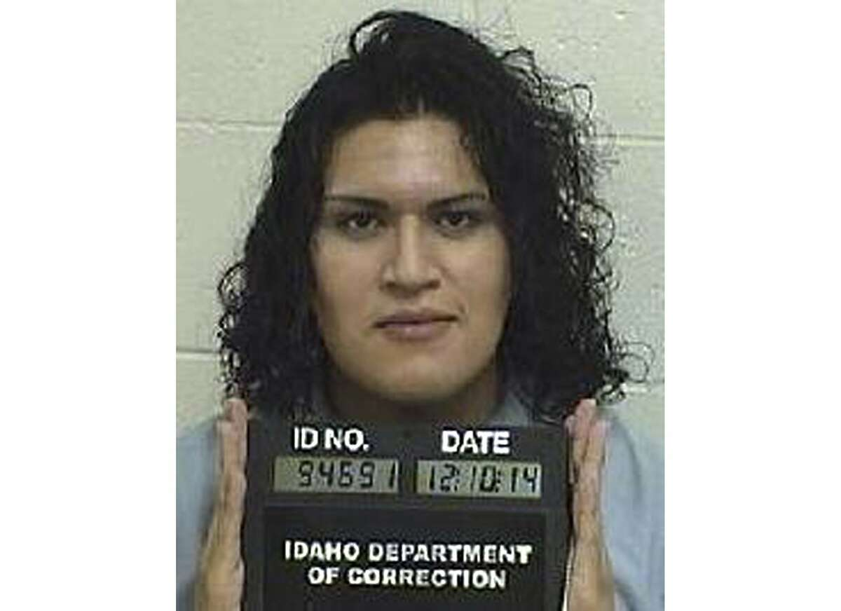 In this Dec. 10, 2014, photo provided by the Idaho Department of Correction is Adree Edmo. A federal appellate court hears arguments Thursday, May 16, 2019, in a lawsuit brought by Adree Edmo, a transgender Idaho inmate, who says the state is wrongly denying her gender confirmation surgery.