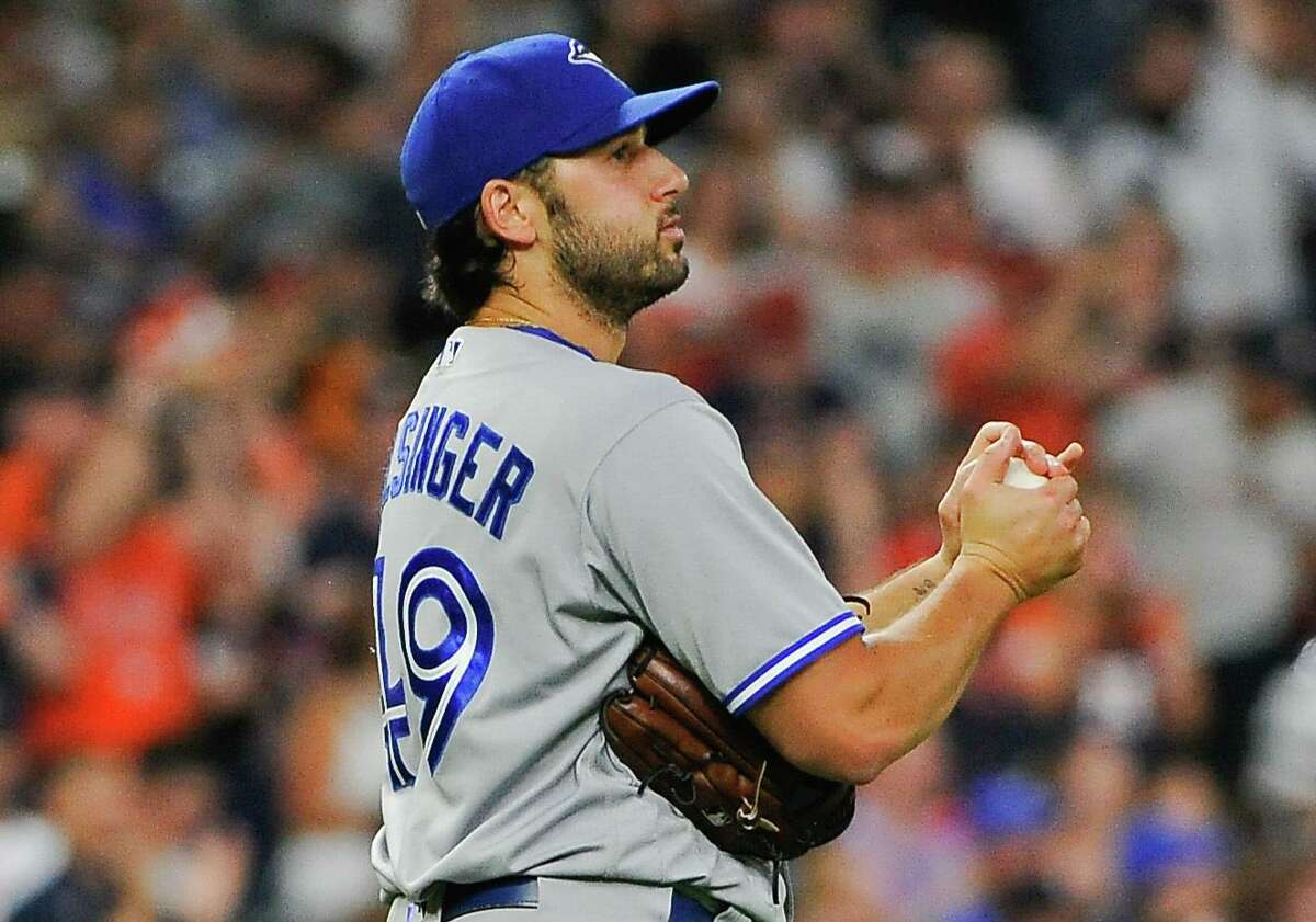 En route to posting a 6.31 ERA in 2017, Blue Jays pitcher Mile Bolsinger allowed nine home runs in 11 appearances (five starts) covering 411/3 innings.