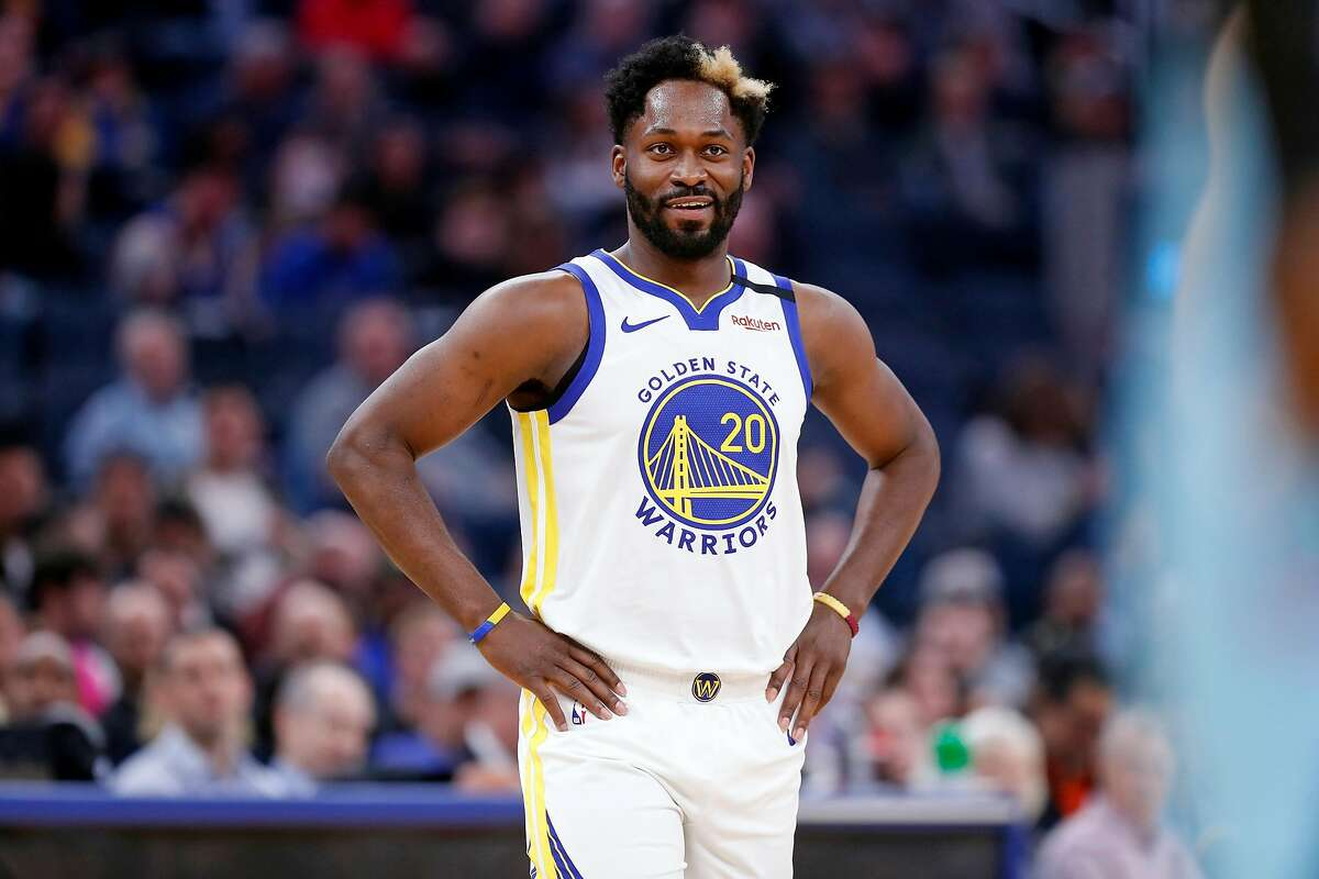 Golden State Warriors' Jeremy Pargo against Miami Heat in NBA game at Chase Center in San Francisco, Calif., on Monday, February 10, 2020.