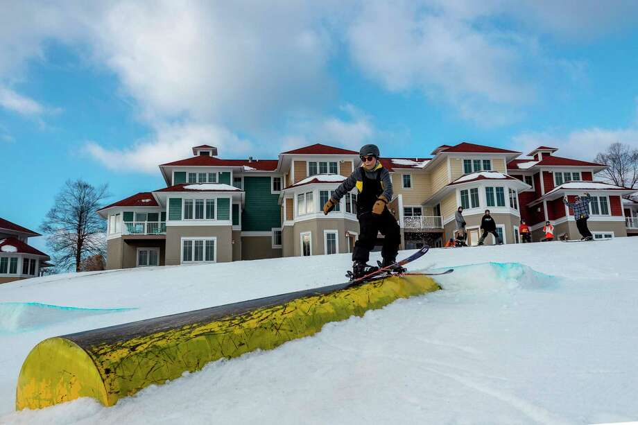 Crystal Mountain's winter sports include snowboarding, skiing, fat tire biking, snowshoeing, cross-country skiing and it also has an ice skating rink. (Photo provided by Crystal Mountain)
