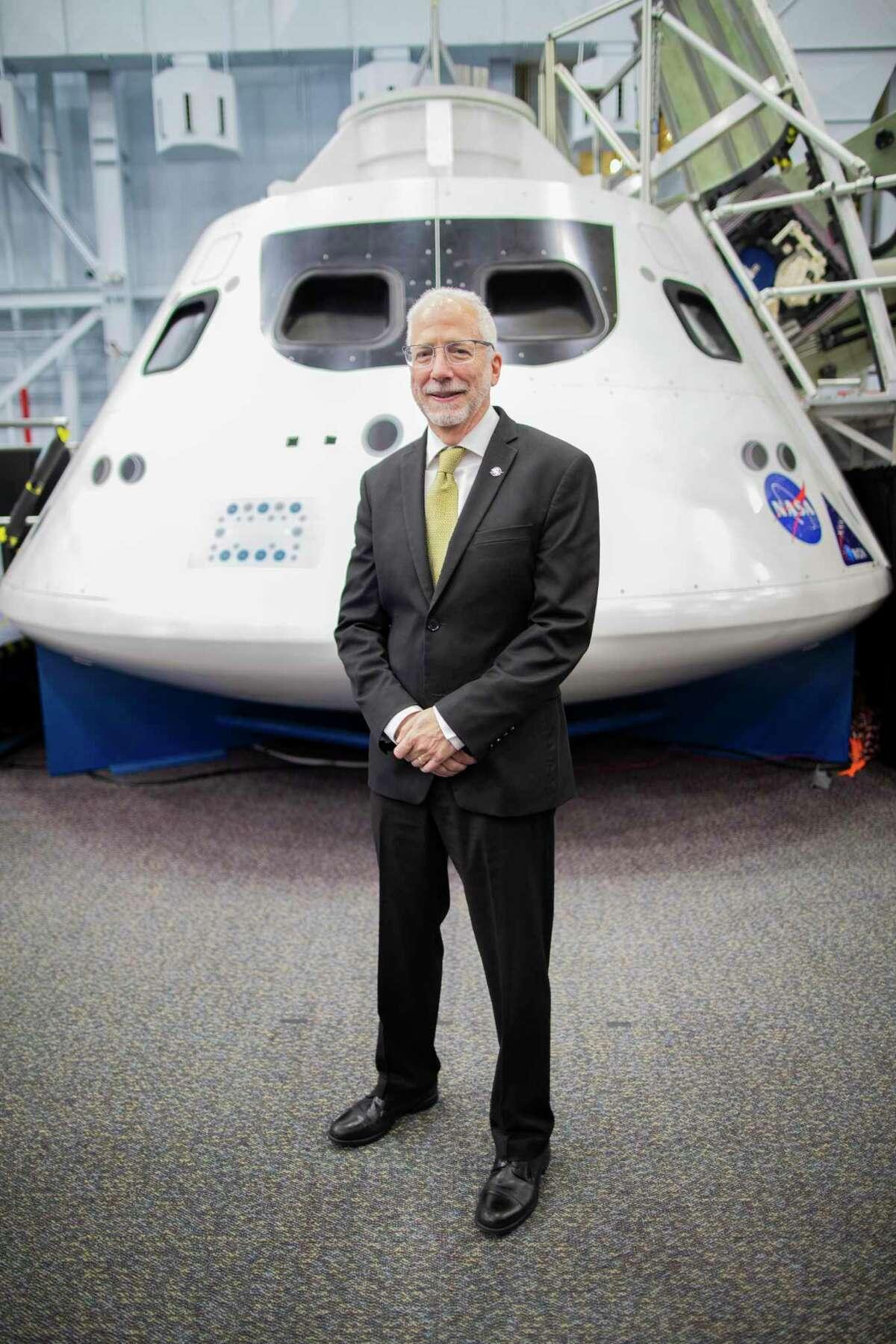 NASA's Johnson Space Center director Mark Geyer on Monday, Feb. 10, 2020 in Houston.