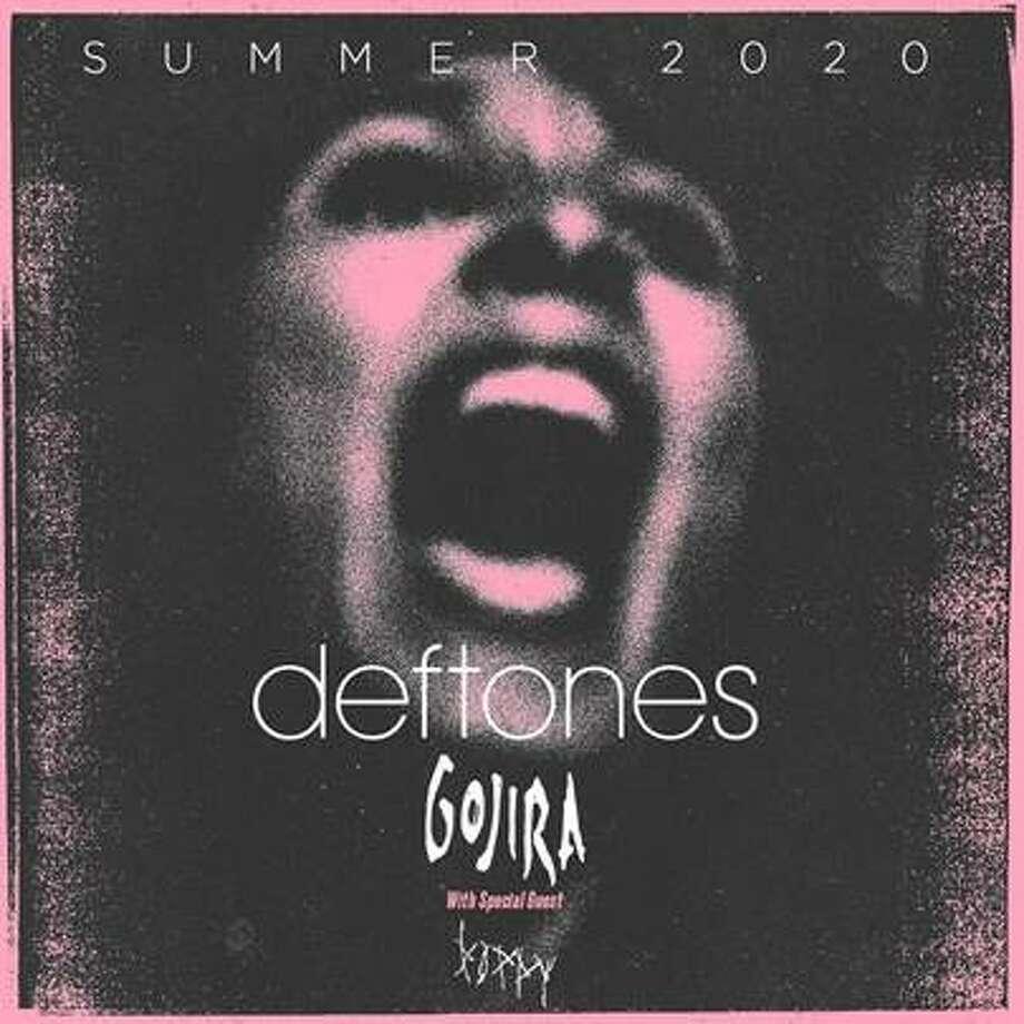 Multiplatinum, Grammy award-winning alternative rock band Deftones is bringing its summer 2020 tour to San Antonio. Photo: AT&T Center